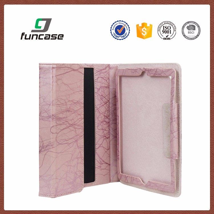 Hot selling 360 full protective pu leather custom printed shockproof 8 inch case for tablet