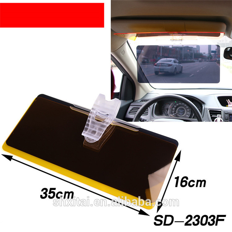 Hot sale xitai car accessories blank car sun visor with best quality art.-no.w124