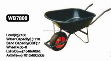 Plastic Tray Wheel Barrow WB7800