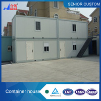 Most popular high quality finished container house