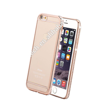 Ultra slim electroplate soft case for iphone 5s ,diamond tpu case for iphone 5s