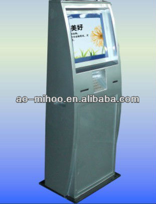 22'' A4 kiosks with laser printer