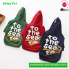 RH-13 hot sale pet clothes fleece elastic embroidery keeps warm dog clothes