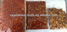 hot red dehydrated chilli crushed steam sterilization