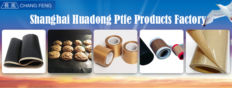 China size customized PTFE coated fiberglass mesh conveyor belt