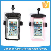 High quality underwater camera hot spring swimming mobile phone waterproof bag, PVC Mobile Phone Cases Waterproof Bag/Pouch ,Wat