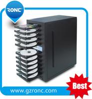 Audio CD / DVD Duplicator Machine for burning movie/music/vedio