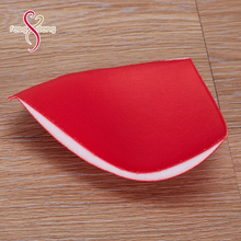 Sports bra padding molded cups for bra pad inserts
