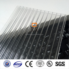 10mm bayer twin wall policarbonate sun sheet hollow polycarbonate panel price