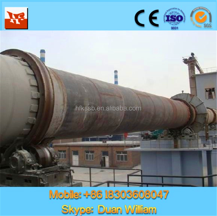 Professional Designed Factory Price Rotary Kiln in Actived Lime Industry