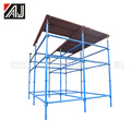 Special Painted Quick lock Scaffolding System With Galvanized Connection Part