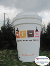 Giant Inflatable Promotion coffee cup replica model for sale