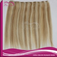 new product wholesale piano color human hair weave double drawn hair weave mix color quality eurasian hair weave
