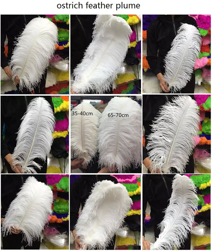 PARTY DECORATION OSTRICH FEATHERS WEDDING CENTERPIECE