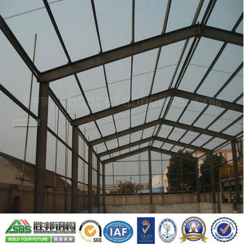 Large Span High Strength Bolt Connection Prefabricated Steel Structure Warehouse