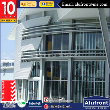 aluminium extruded sections curtain wall/stone cladding curtain wall