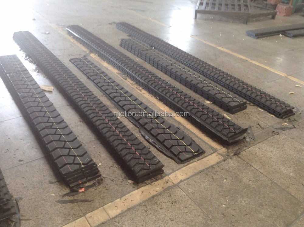 Chinese precured truck tire tread rubber for recap industry- Pattern M