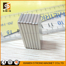 Customized Rare Earth Block Shape Super Strong Neodymium Magnet Zinc Chromium Nickel NiCuNi NiSn Ndfeb Magnet