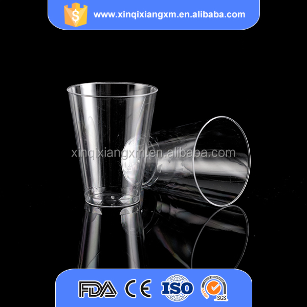 Promotional cheap plastic ps 7oz drinking cups disposable