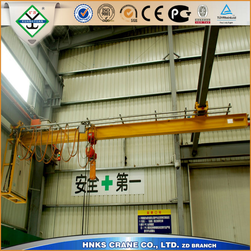 18t Electric Single Girder Hoist Crane, Overhead Crane for Injection Molding