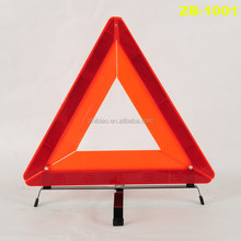 warning triangle and reflective vest