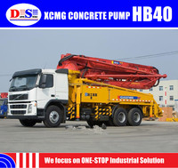 Best Price XCMG HB40 40m Concrete Pump Truck For Sale