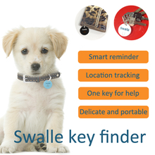 for bag and wallet magic finder small lovely key finder waterproof Bluetooth Swalle tracker