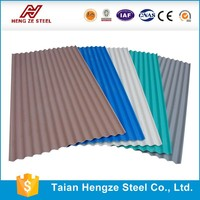 building materials prices corrugated steel roofing sheet/ orifice plate corrugated galvanized zinc roof sheets