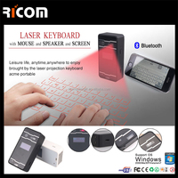 Magic Cube Wireless Laser Virtual Projector Keyboard QWERTY,Virtual Laser Keyboard Wireless with Screen--VK-004--Shenzhen Ricom
