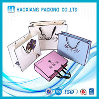 colorful paper gift bag,high quality paper shop bag,luxury printed custom paper bag