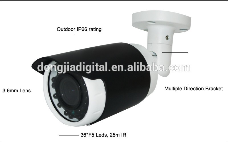 DONGJIA 4CH 720P/960P/1080P security camera system poe