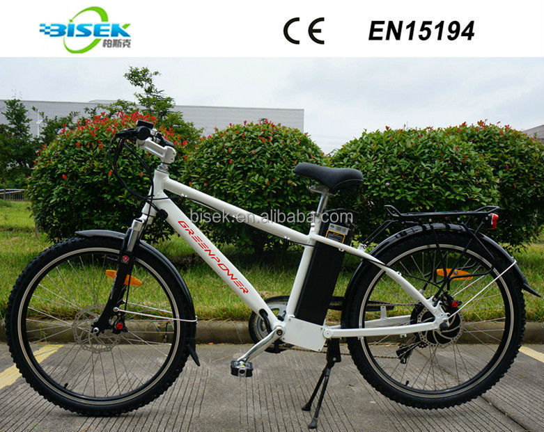 48V 500W electric mountain bikes off road vehicles with lifepo4 battery 48v 10ah 13ah