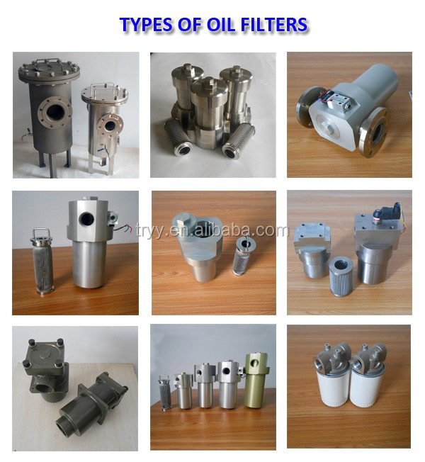 Hydraulic system low pressure external return strainer