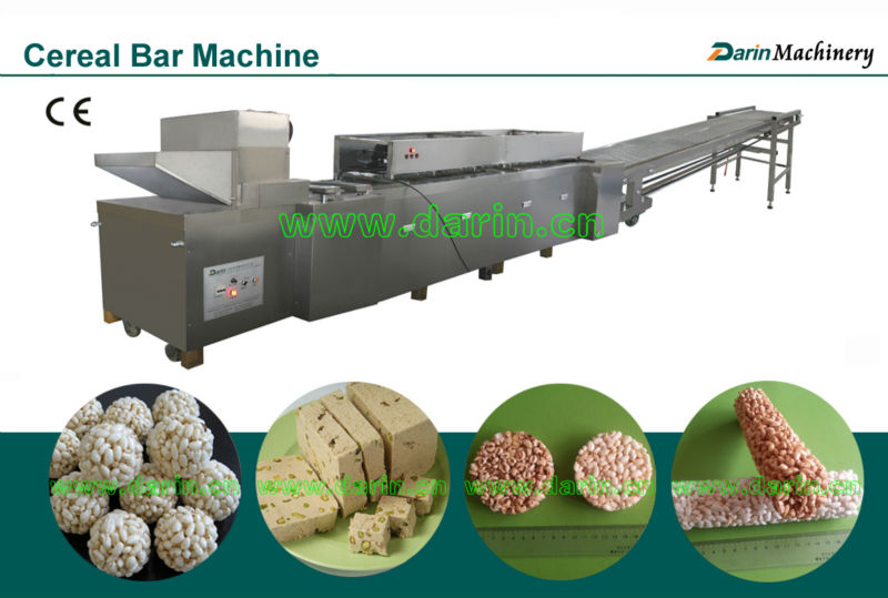 Puffed Rice Cookie Producing Machine