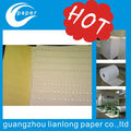 high quality low cost paper with security thread for certificate