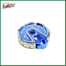 Scooter CNC aluminum Ignition Switch Gas Cap Seat Lock key gas cap cover sets for Yamaha bws 125 ALL YEAR
