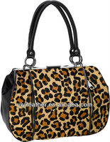 V425-2013 New Arrival leopard print pu tote bag, fashion handbags in new york
