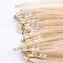 Hot sale 100% virgin remy Brazilian double drawn Micro loop ring hair extension