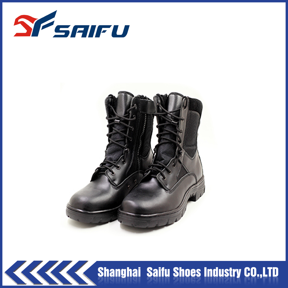 industri safeti shoe, High Heel Steel Toe Boots SF 5761