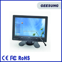 Cheap Price 1080P 7 Inch LCD Car TV Monitor With HDMI/USB/VGA/AV Input