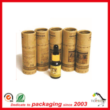 cosmetic bottles and packaging paper tube customized printing china manufacturer