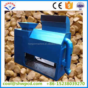 high peeling rate green pea black gram cocoa bean skin removing peeling machine
