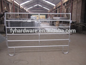 hot dipped galvanized horse fence cattle fence cattle gate system made in China