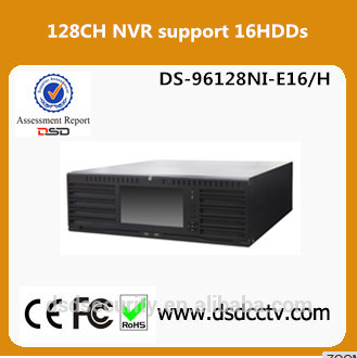 Hikvision 128 channel Network viedo recorder DS-96128NI-E16/H New super 4 K nvr