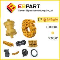 EBPART Shantui bulldozer undercarriage parts sprockets and chains