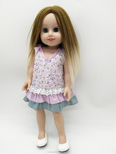 "New Arrival 18"" American Girl Clothes Floral Skirt Pattern 18 inch Doll Clothes for Sale"