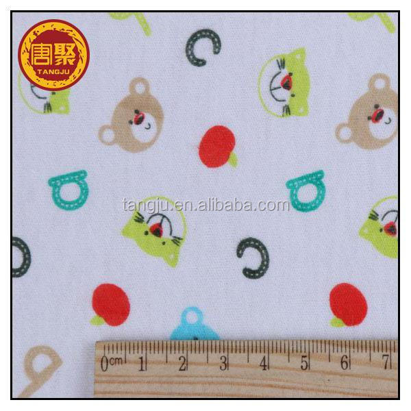 100% cotton knitted denim jeans fabric for tshirt,bed sheet,for baby