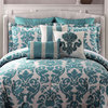 Whisper Comforter Set and Sham Separates,feather printed bedding set LATEST DESIGNS GI_5005