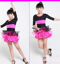 Wholesale Children dance dress Girls Latin dance skirt