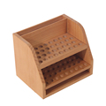 whole sale high-end wood display essential oil stand